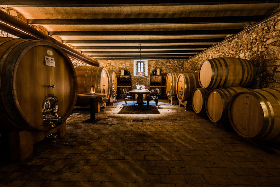 massimago winery inside the wine relais
