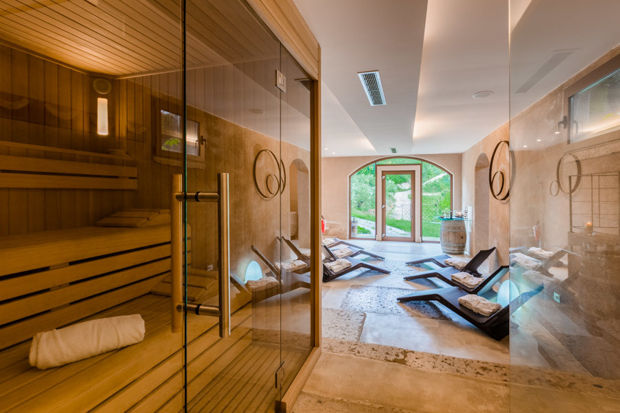 wellness and relax inside massimago spa