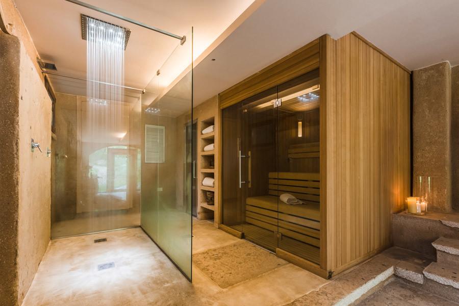 sauna and turkish bath with massimago in valpolicella