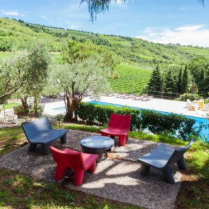 the external environments of massimago wine relais