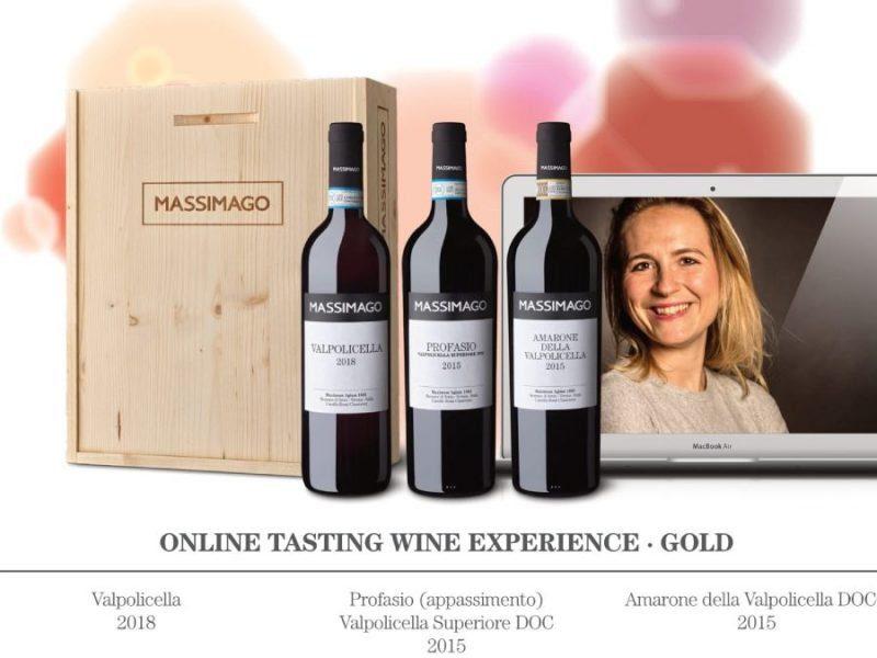Selezione Massimago Wine Classic + degustazione smart tasting con amarone della vapolicella