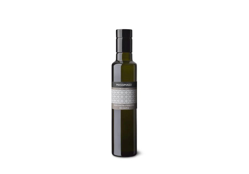 bottiglia olio oliva biologico massimago