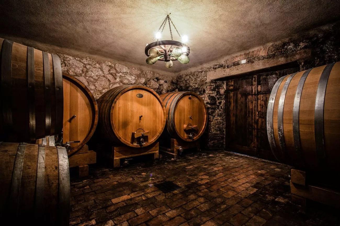 antica cantina in valpolicella dove si produce il vino valpolicella ripasso